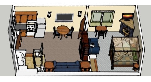 Suites drawing